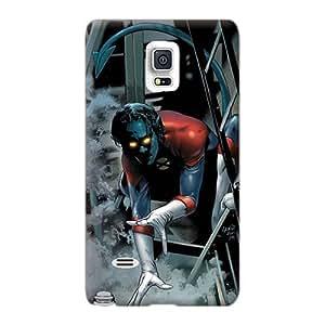 Customcases88 Samsung Galaxy Note 4 Great Hard Phone Cases Allow Personal Design Realistic Nightcrawler I4 Image [UVL1590uzCG]