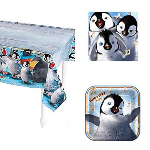 Happy Feet Two Party Pack for 8 Guest - Happy Feet 2 Party Supplies
