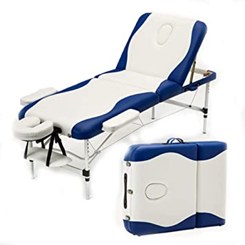 Mesa de masaje plegable portátil: mesa de sofá de belleza Sofá de ...