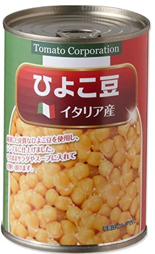Tomato Corporation chickpeas (Italy production) EO can 400gX24 pieces by TOMATO