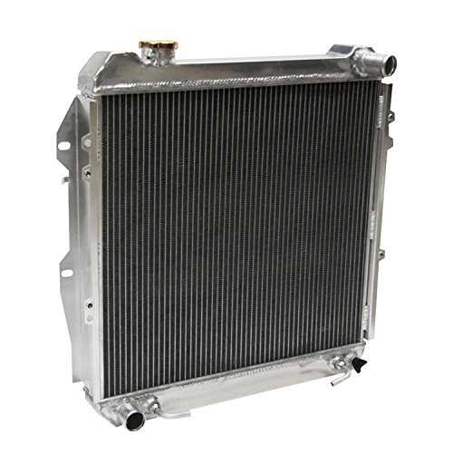 Primecooling 3 Row All Aluminum Radiator for Toyota 4Runner Pickup SR5 DLX, 3.0L V6 Engine 1988-95 - 3 Engine Cooling