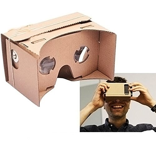 NEW ULTRA CLEAR DIY Google Cardboard Valencia Quality 3D VR Virtual Reality Glasses