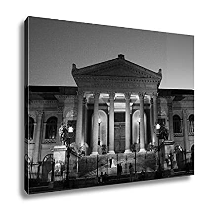 Amazon.com: Ashley Canvas Teatro Massimo Opera House In ...