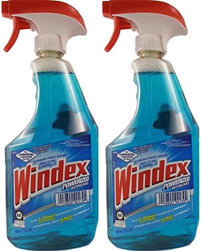Windex Glass & Multi-Surface Cleaner, Ammonia-D, 32 Ounce...