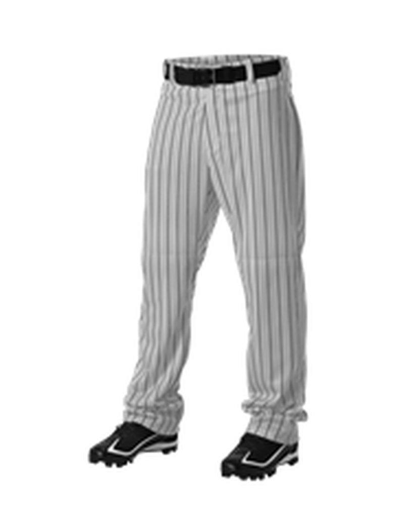 Alleson Athletic PANTS メンズ B072N7L6WH 2X|Grey, Black Grey, Black 2X