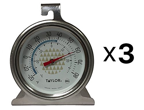 Price comparison product image Taylor - Freezr-Refrig Thermometer (1 pack of 3 items)