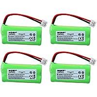 HQRP 4-Pack Phone Battery for Motorola L402, L402C, L403, L403C, L404, L404C + HQRP Coaster