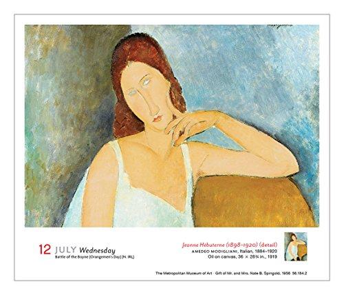 Art 365 Days Of Masterpieces 2017 Calendar Calendar Day