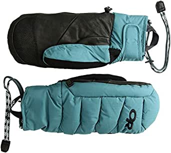 Outdoor Research Stormbound Mitts, Washed Peacock, XS