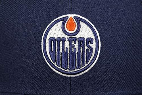 Edmonton ajustable Light Navy Nhl Audible Cap marcas Oilers Mvp 47 Cwqp6C5