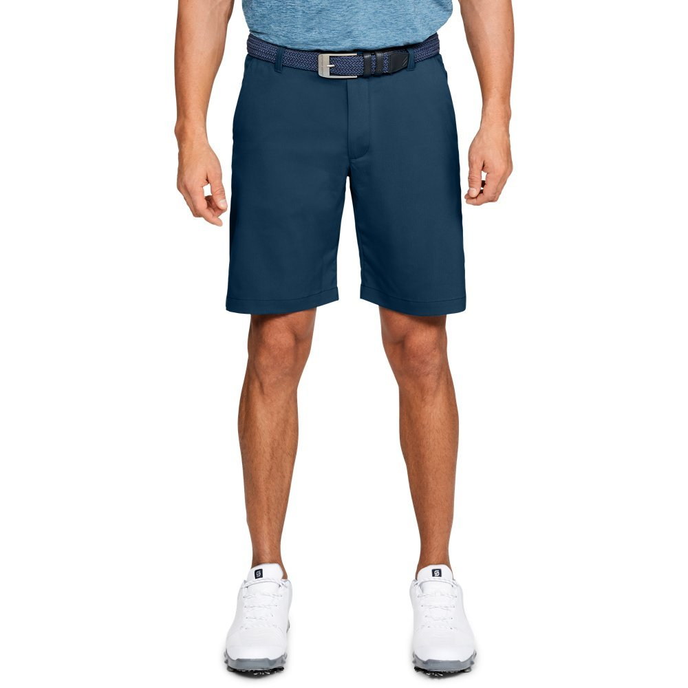 Under Armour Men's Showdown Golf Shorts, Techno Teal (489)/Techno Teal, 40 by Under Armour