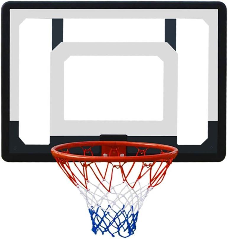 Amazon Com Erru Over The Door Mini Basketball Hoop 80 5x57 5cm Transparent Backboard Wall Mount Basketball Goal For Adult Child Home Kitchen
