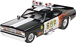 Monogram Plymouth Duster Cop-Out Plastic Model Kit from Revell