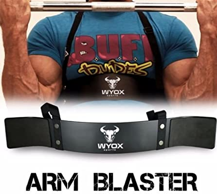 Heavy-Duty Arm Blaster Body Building Bomber Biceps Curl Triceps Muscle Fitness