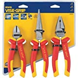 Irwin Tools 10505519NA 3-Piece Insulated Plier Set