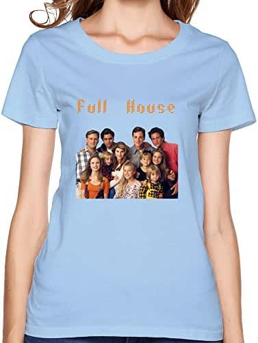 Lady Cool Style Casual Full House Shirts