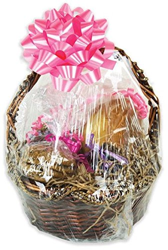 Shrink-Rite Clear Dome Gift Basket Shrink Film Bags 20in x 20in - 5 Bags - Value Packed ()