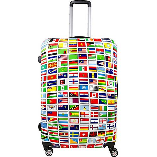 Flags Hardside 20in Spinner Upright Luggage (Best Upright Spinner Luggage)