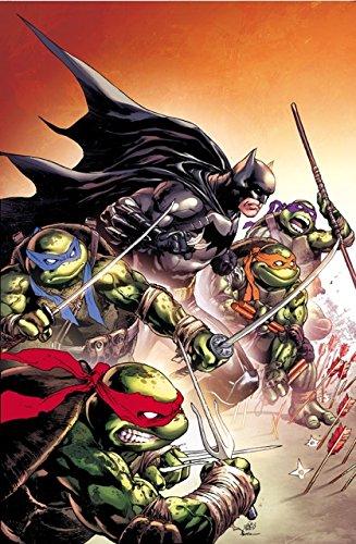 BATMAN TEENAGE MUTANT NINJA TURTLES #1 HALL OF COMICS IVAN ...