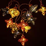 Kasbah Antique Light Chain Mains Powered