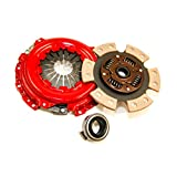 Yonaka B Series 6 Puck Stage 3 Performance Heavy Duty Clutch Kit Set Ceramic Disc B16 B18 B20
