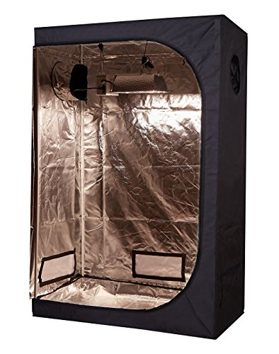 TopoLite 48''x24''x72'' Grow Tent Room Reflective Mylar Indoor Garden Growing Room Hydroponic System by TopoLite