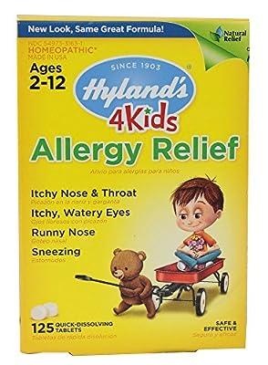 Hyland's Allergy Relief 4 Kids Quick Dissolve Tabs