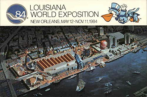 Louisiana World Exposition, New Orleans May 12-Nov. 11, 1984 New Orleans Original Vintage Postcard from CardCow Vintage Postcards