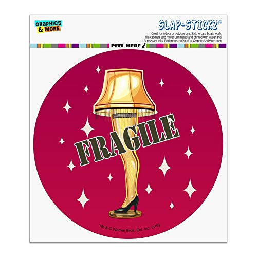 Leg Lamp Window Cling - Graphics and More A Christmas Story
