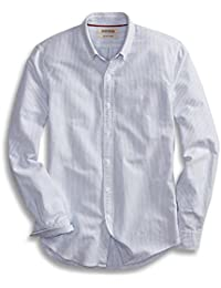 Men's Slim-Fit Long-Sleeve Striped Oxford Shirt