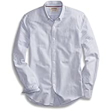 Goodthreads Men's Slim-Fit Long-Sleeve Striped Oxford Shirt