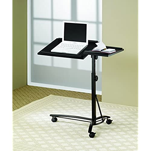 Coaster Transitional Black Laptop Stand