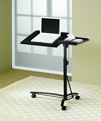 Adjustable Height Laptop Stand Black by Coaster Home Furnishings