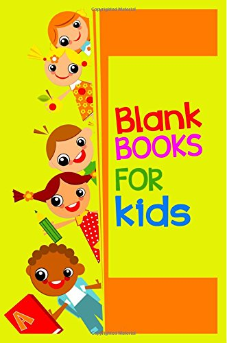Blank Books For Kids: 6 x 9, 108 Lined Pages (diary, notebook, journal, workbook)