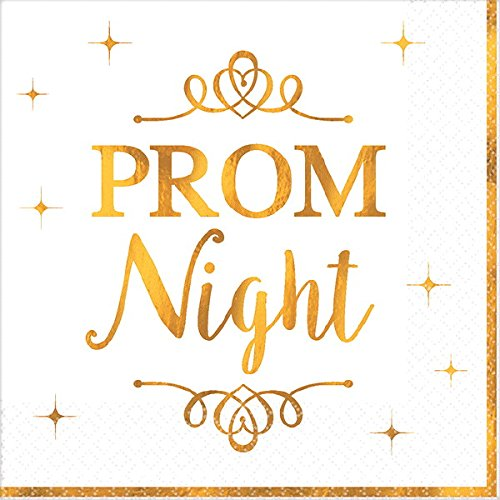 Amscan Prom Beverage Napkins   Party Favor   192 Ct.