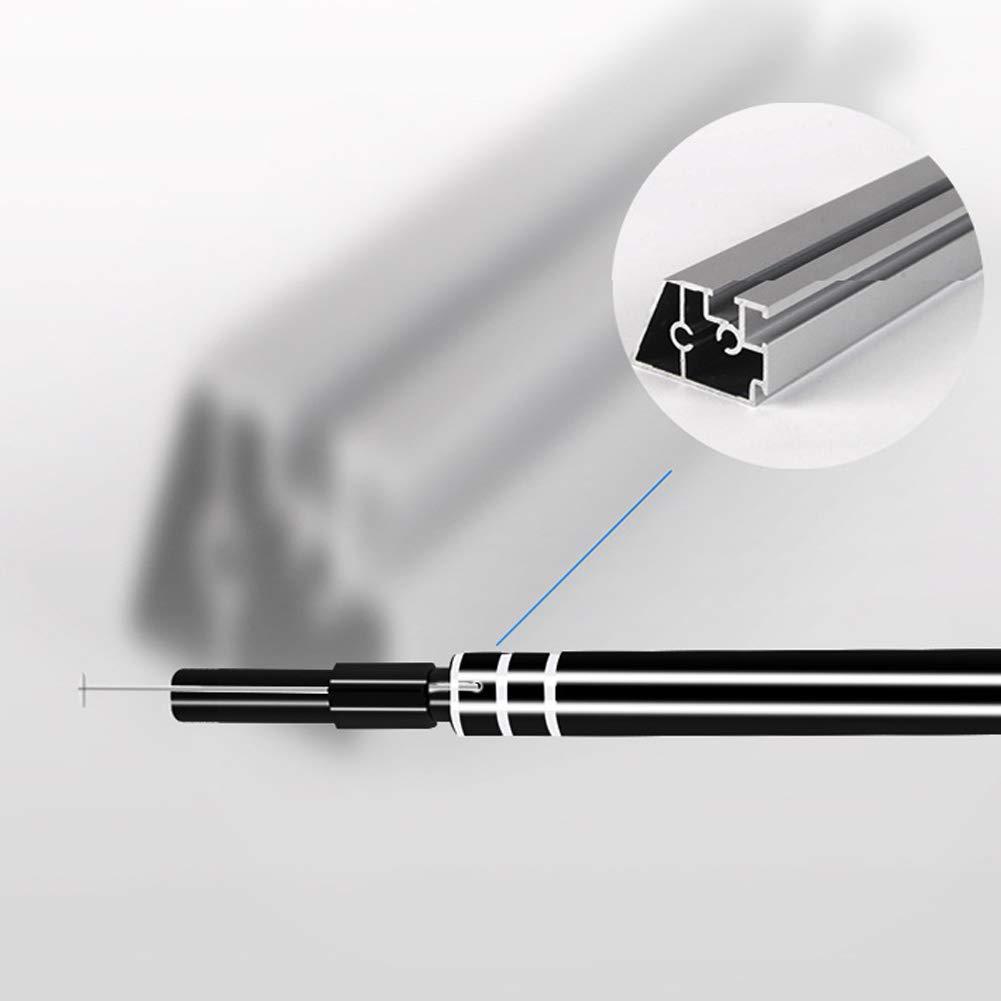 USB Otoscopio Ear-Pick negro 2 en 1 USB Mini c/ámara endoscopio Ear Cleaning Tool HD Visual Ear Spoon
