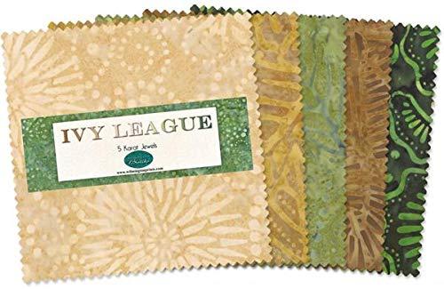 Ivy League 5 Karat Jewels Batik Charm Pack 506-59-506 from ()
