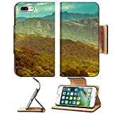 Liili Premium Apple iPhone 7 Plus Flip Pu Leather Wallet Case iPhone7 Plus IMAGE ID 33653656 beautiful landscape with mountains in India kerala Munnar vintage style