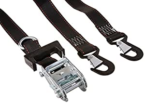"""Keeper 05723 1 1/2"""" by 8' Heavy-Duty Motorcycle and ATV Tie Down, Pack of 2"""