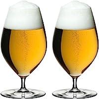 Riedel 6449/11 Veritas Beer Glasses, Set of 2, Clear