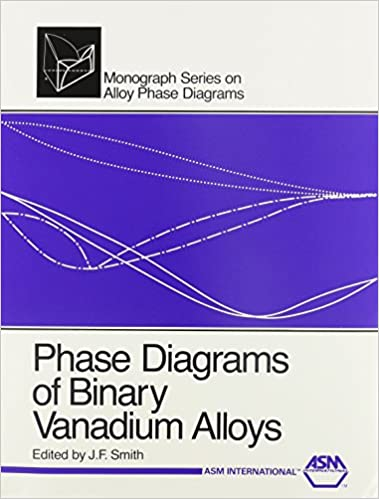 Phase Diagrams Of Binary Vanadium Alloys Monograph Series On Alloy