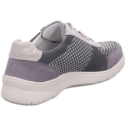 De Cordones 12 Ara Gris 31051 Mujer Tela 06 Para Zapatos FqawgI