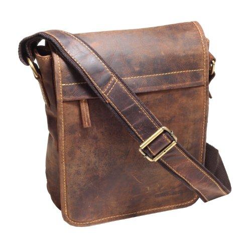Greenburry Vintage Sac bandoulière cuir 23 cm braun