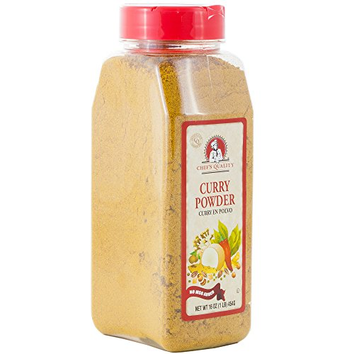 Curry Powder Seasoning with No MSG Added 1 Pound - Chef Quality,16 oz