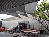 Artouch Light Grey Triangle Sun Shade Sails 12' x 12' x 12' UV Block for Shelter Canopy Patio Garden Outdoor Facility and Activities