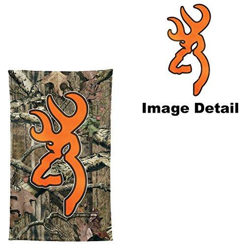 Orange Camo Browning Deer Logo Clipart Library