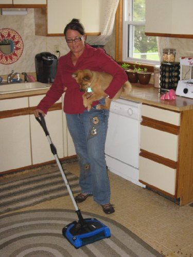 Speedy Sweep Sweeper Cordless Rechargeable Commercial Battery Floor Sweeper by Gordon Brush (Image #6)