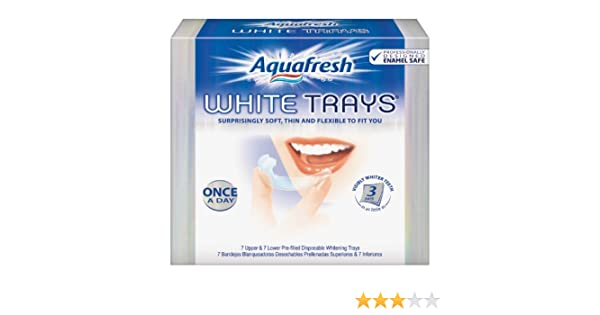Amazon.com : Aquafresh White Trays, 14 Trays : Tooth Whitening Products : Beauty