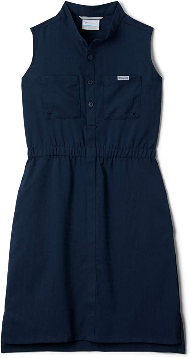 Sun Protection Moisture Wicking Columbia Girls/' PFG Tamiami Sleeveless Dress