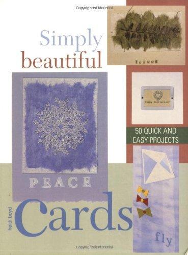 Boyds Card Greeting - Simply Beautiful Greeting Cards by Heidi Boyd (2005-08-01)